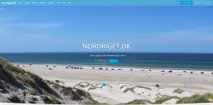 billede af Nordrigets hjemmeside