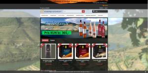 Billede af nordjysk-vinimports hjemmeside